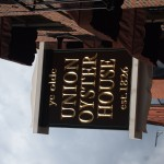 The oldest continuously operating restaurant in the US - The Union Oyster House.