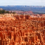 Bryce Canyon is actually not a canyon, since canyon's are formed by rivers... the beautiful ampitheaters are actually created by headward erosion.